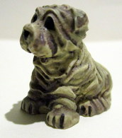 Figurine Ou Fève - Mate - Chien Sharpei - Dogs