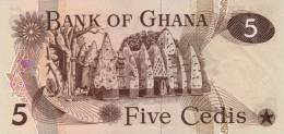 GHANA P. 15b 5 C 1977 UNC - Ghana