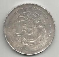 Cina, Impero, 1895-1905, Hupeh, 50 C., Weight 10,91 Gr. - Cina