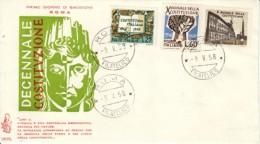 1958 - Costituzione - FDC VENETIA - F.D.C.