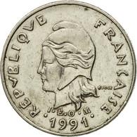 Monnaie, Nouvelle-Calédonie, 10 Francs, 1991, Paris, TTB, Nickel, KM:11 - New Caledonia