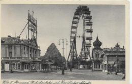 AK 0007  Wien - Riesenrad , Hochschaubahn Und Kino Lustspieltheater Um 1920-30 - Prater