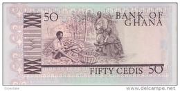 GHANA P. 22b 50 C 1980 UNC - Ghana