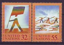 UNITED NATIONS New York 787-788,unused - ONU