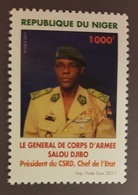 NIGER 2011 GENERAL SALOU DJIBO PRESIDENT YVERT YT 1687 MICHEL Mi 2020  MNH ** RARE - Niger (1960-...)