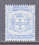 JAMAICA  46  *  Wmk. 3  1910 Issue  ARMS - Jamaica (...-1961)