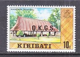 KIRIBATI  O 5   **  ASSEMBLY  HOUSE - Kiribati (1979-...)