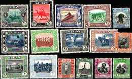 71767)  SOUDAN  SERIE CORRENTE-17 V.. N. 96-112-MNH** - Sudan (1954-...)
