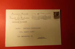 CARTOLINA ASSOCIAZIONE NAZIONALE PER IL CONTROLLO DELLA COMBUSTIONE    E 1082 - Commercio