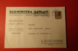 CARTOLINA SUGHERIFERA GARLATI     E 1085 - Commercio