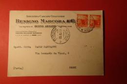CARTOLINA BENIGNO MARCORA & C   E 1088 - Commercio