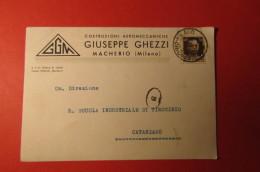 CARTOLINA GIUSEPPE GHEZZI COSTRUZIONI AEROMECCANICHE    E 1094 - Commercio