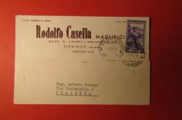 CARTOLINA RODOLFO CASELLA MAGLIFICI    E 1096 - Commercio