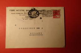 CARTOLINA FIBRE NOSTRE BREMETTI CANDINI     E 1097 - Commercio