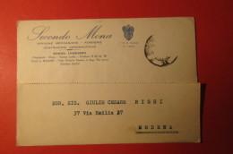 CARTOLINA SECONDO MONA OFFICINE MECCANICHE     E 1098 - Commercio