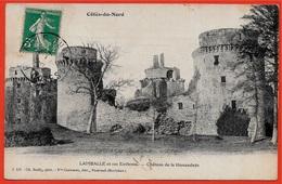 """CPA 22 """"Côtes-du-Nord"""" Lamballe Et Ses Environs (PREDELIAC) Château De La Hunaudaye ° Ch. Bailly Phot. 4 121 - France"""