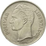 Monnaie, Venezuela, Bolivar, 1989, TTB+, Nickel Clad Steel, KM:52a.2 - Venezuela