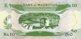 MAURITIUS P. 35b 10 R 1985 UNC - Maurice
