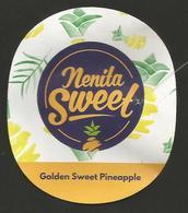 # PINEAPPLE NENITA SWEET OVAL Type Fruit Tag Balise Etiqueta Anhanger Ananas Pina Costa Rica - Fruits & Vegetables