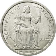 Monnaie, French Polynesia, 2 Francs, 1965, TTB, Aluminium, KM:3 - French Polynesia
