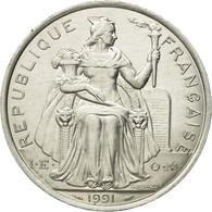 Monnaie, French Polynesia, 5 Francs, 1991, Paris, SUP, Aluminium, KM:12 - French Polynesia