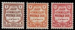 Jordan 1942 Postage Dues - Jordan