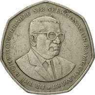 Monnaie, Mauritius, 10 Rupees, 1997, TTB, Copper-nickel, KM:61 - Mauritius
