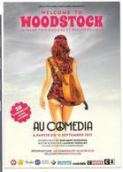 WELCOME TO WOODSTOCK - PARIS AU COMEDIA - 2017 - Voyage Au Pays Des Hippies - Theatre
