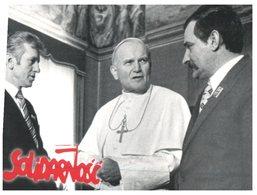 (789) Pope John Pual II And Lech Wałęsa (Nobel Prize  Winners) - Prix Nobel