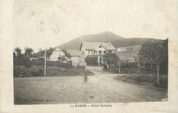 """CPA FRANCE 88 """" Le Donon, Hôtel Velleda """" - France"""