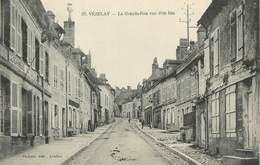 """CPA FRANCE 89 """" Vézelay, La Grande Rue Vue D'en Bas"""" - Vezelay"""