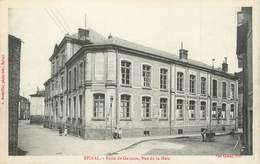 """CPA FRANCE 88 """" Epinal, Ecole Des Garçons, Rue De La Maix"""" - Epinal"""