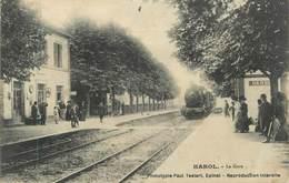 "CPA FRANCE 88 "" Harol, La Gare"" - France"