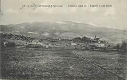 """CPA FRANCE 84 """"Le Mont Ventoux, Bédoin à Ses Pieds"""" - France"""