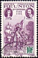 Réunion Obl. N° 185 - Rattachement à La France 10 Frs Violet - Réunion (1852-1975)
