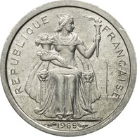 Monnaie, French Polynesia, 50 Centimes, 1965, SUP+, Aluminium, KM:1 - French Polynesia