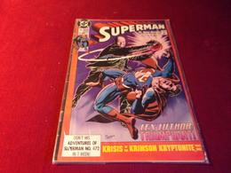 SUPERMAN    No 49 NOV 90 - Livres, BD, Revues