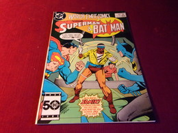WORLD'S  FINEST COMICS SUPERMAN & BATMAN    No 318  AUG 85 - Livres, BD, Revues