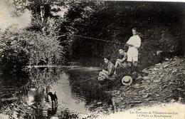 47 Les Environs De VILLENEUVE-SUR-LOT - La Pêche Au Bondouyssau - Très Animée : Pêcheurs à La Ligne - Villeneuve Sur Lot