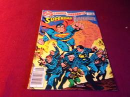 COMICS PRESENTS  SUPERMAN  AND  BLACKHAWK    No 69 MAY 84 - Livres, BD, Revues