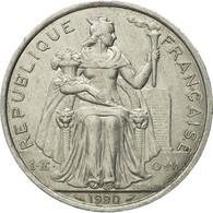 Monnaie, French Polynesia, 5 Francs, 1990, Paris, TTB, Aluminium, KM:12 - French Polynesia