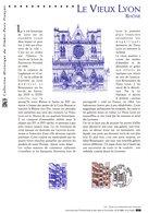 """"""" LE VIEUX LYON """" Sur Document Philatélique Officiel De 2001  N° YT 3390. DPO - Documentos Del Correo"""