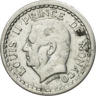Monnaie, Monaco, Louis II, Franc, Undated (1943), TTB, Aluminium, Gadoury:MC131 - Monaco