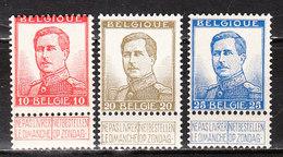 123/25**  Pellens - Série Complète - MNH** - COB 3.50 - Vendu à 12.50% Du COB!!!! - 1912 Pellens