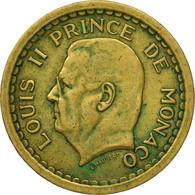 Monnaie, Monaco, 2 Francs, Undated (1943), TTB, Cupro-Aluminium, Gadoury:MC134 - Monaco