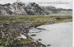 AK 000ß  Bregenz Am Bodensee Mit Den Schweizer Bergen - Verlag Monopol Um 1923 - Bregenz