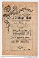 LE CHRYSANTHÈME . Journal De La Société Française Des Chrysanthèmes - Réf. N°104F - - Garden