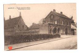 22926-LE-BELGIQUE-MACHELEN-Maison Communale Et Ecole - Machelen