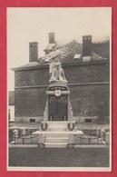 Givry - Le Monument ... Carte Photo - +/- 1920 ( Voir Verso ) - Quévy