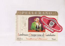 ETIQUETTE DE VIN ITALIE PELLERANO - Red Wines
